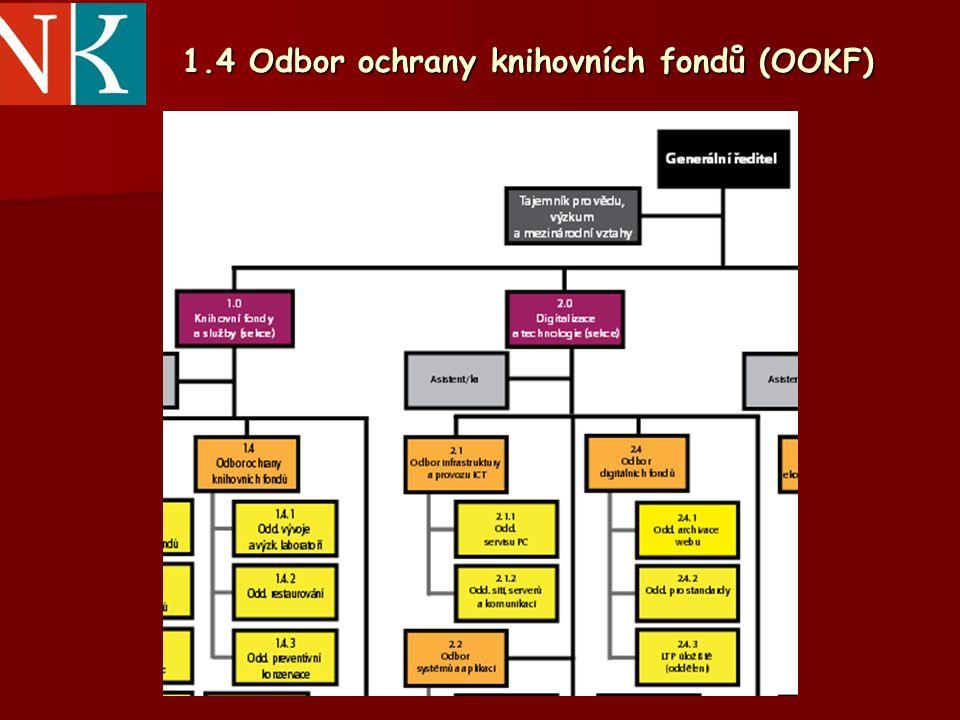 1.4 Odbor ochrany knihovních fondů (OOKF)