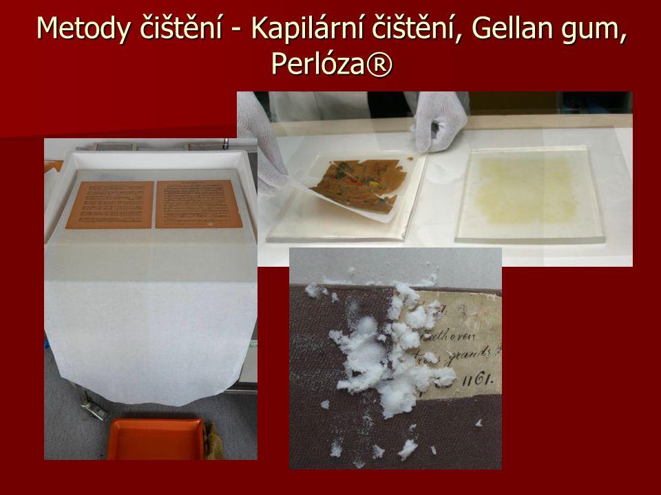 Metody čištění - Kapilární čištění, Gellan gum, Perlóza®
