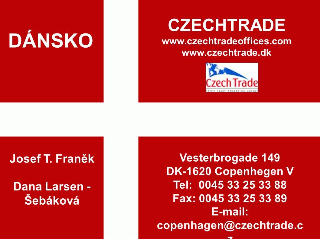 16 DÁNSKO CZECHTRADE www.czechtradeoffices.com www.czechtrade.dk Josef T.