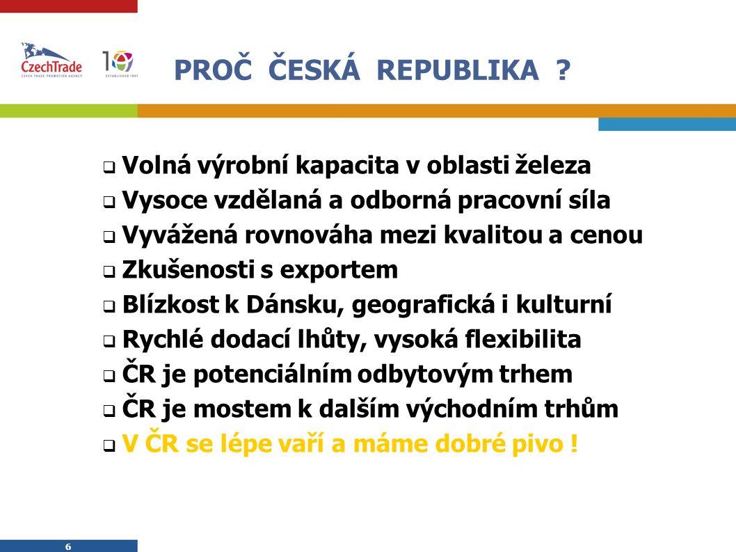 6 6 PROČ ČESKÁ REPUBLIKA .