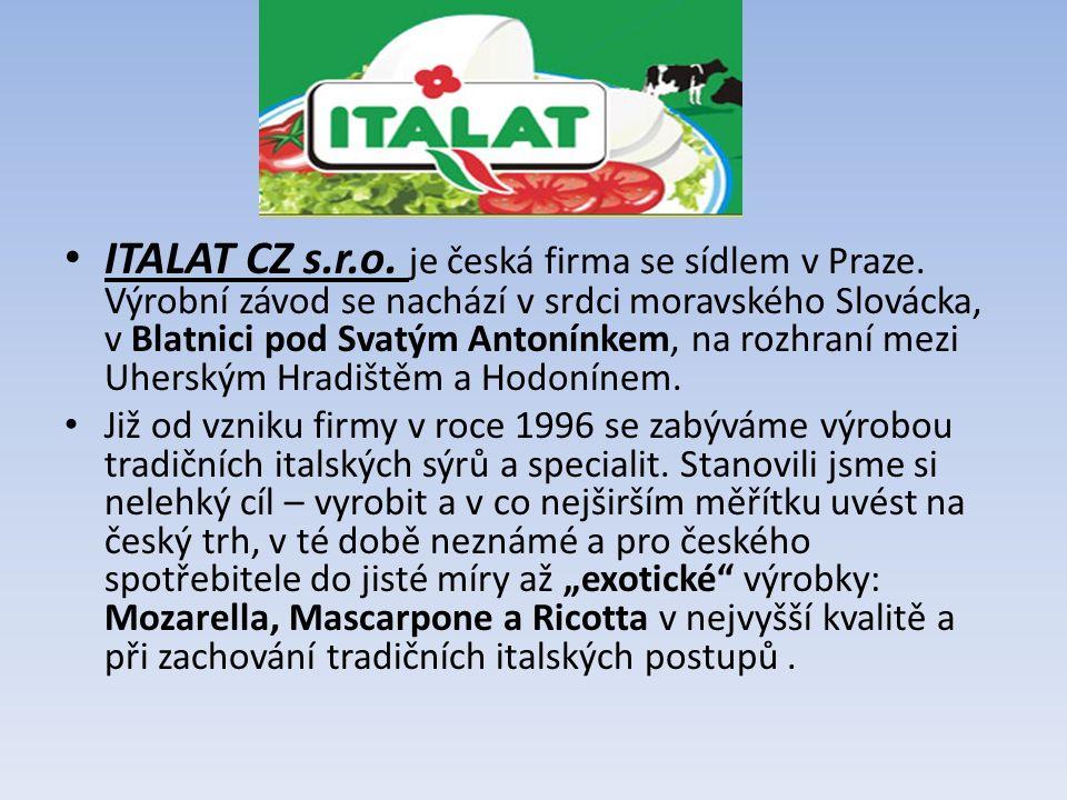 ITALAT CZ s.r.o.je česká firma se sídlem v Praze.