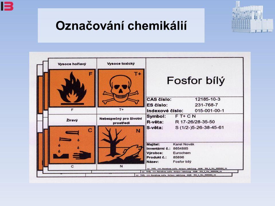 Označování chemikálií