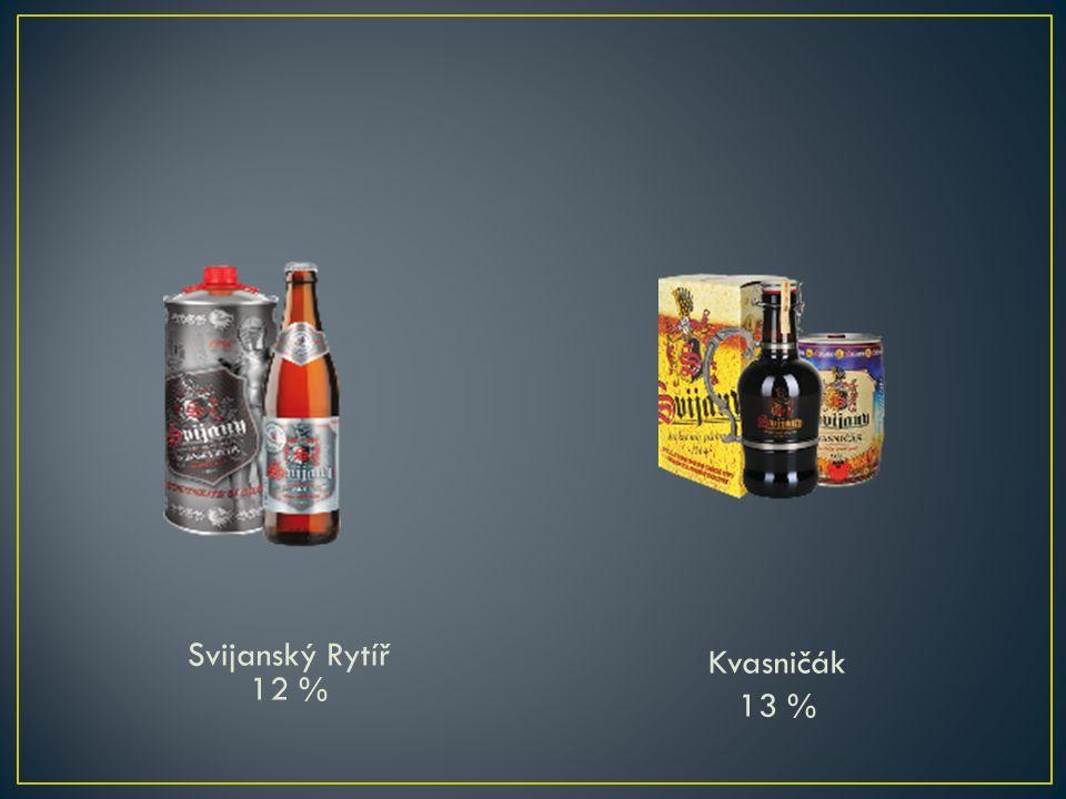 Svijanský Rytíř 12 % Kvasničák 13 %