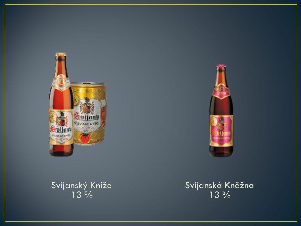 Svijanský Kníže 13 % Svijanská Kněžna 13 %