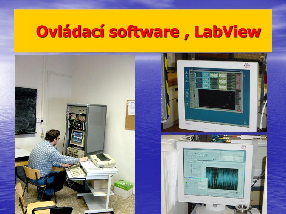 Ovládací software, LabView Ovládací software, LabView
