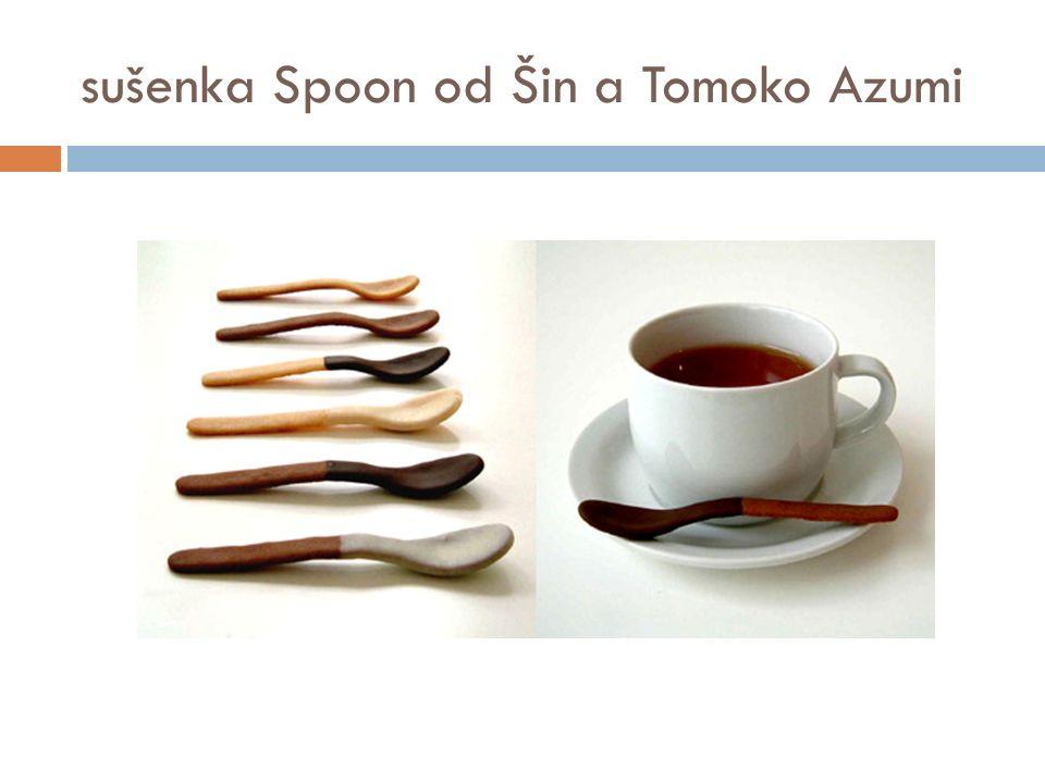 sušenka Spoon od Šin a Tomoko Azumi
