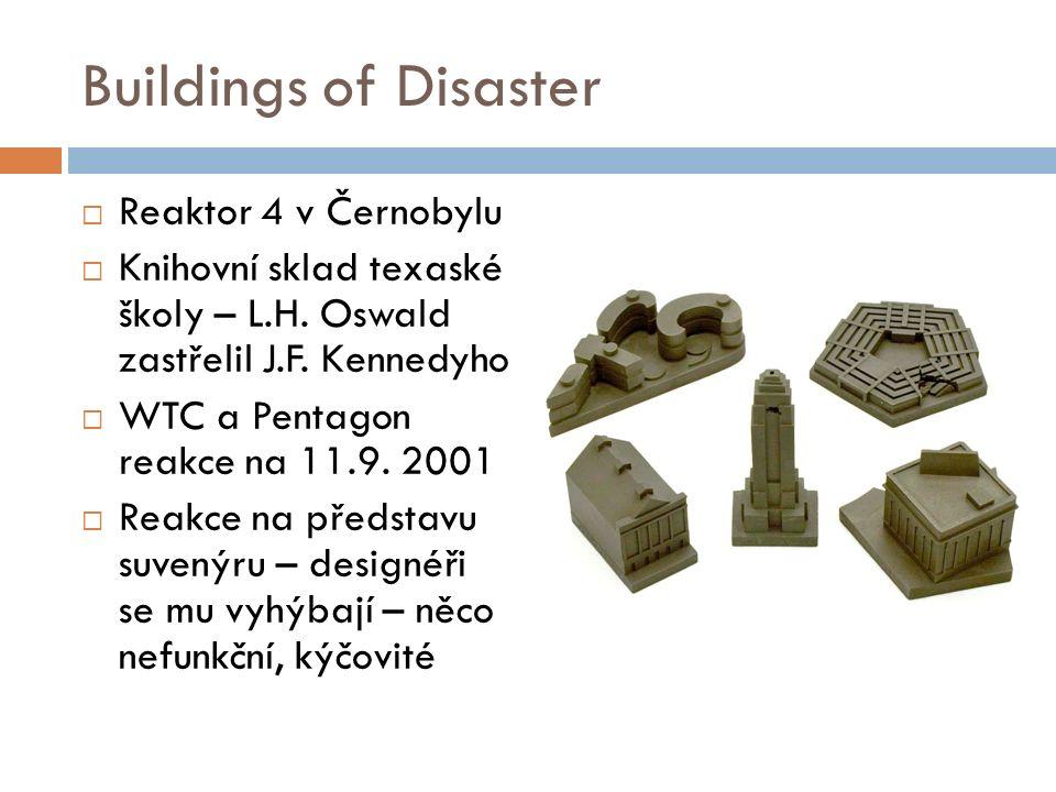Buildings of Disaster  Reaktor 4 v Černobylu  Knihovní sklad texaské školy – L.H.