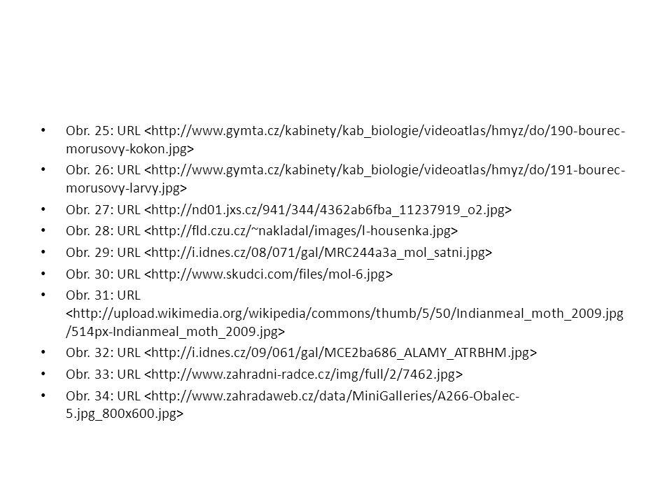 Obr. 25: URL Obr. 26: URL Obr. 27: URL Obr. 28: URL Obr. 29: URL Obr. 30: URL Obr. 31: URL Obr. 32: URL Obr. 33: URL Obr. 34: URL