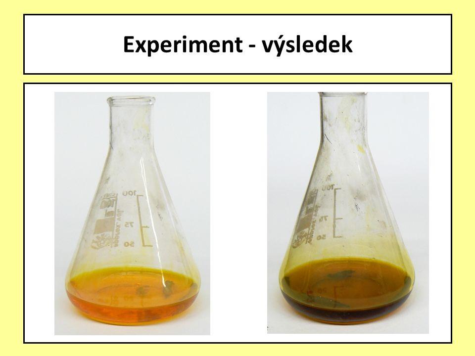 Experiment - výsledek