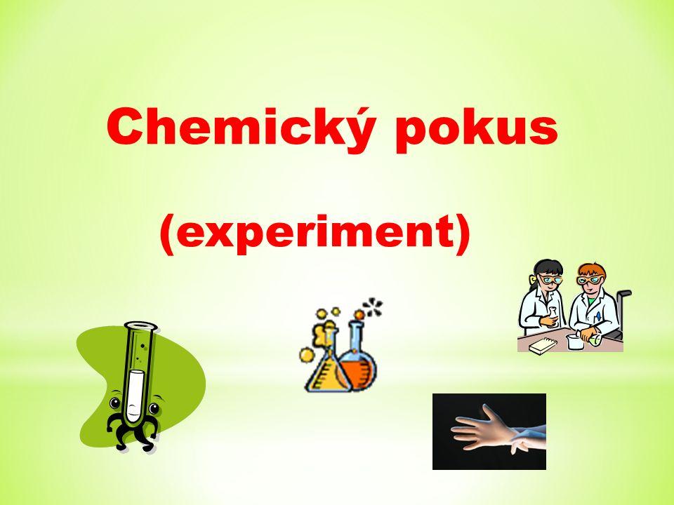 Chemický pokus (experiment)
