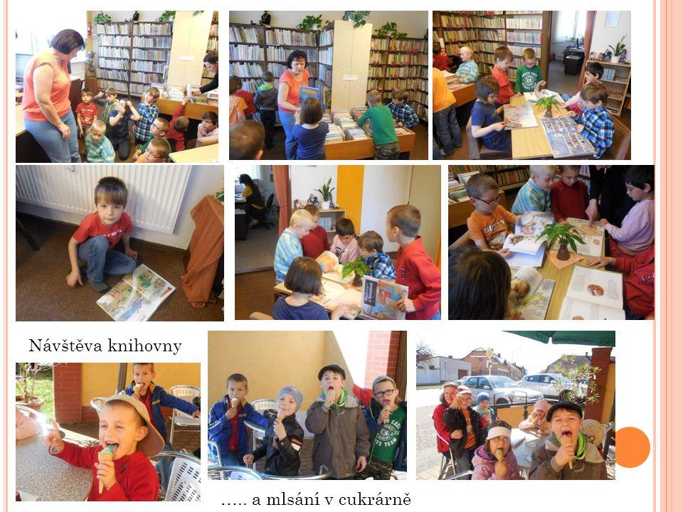 Návštěva knihovny ….. a mlsání v cukrárně