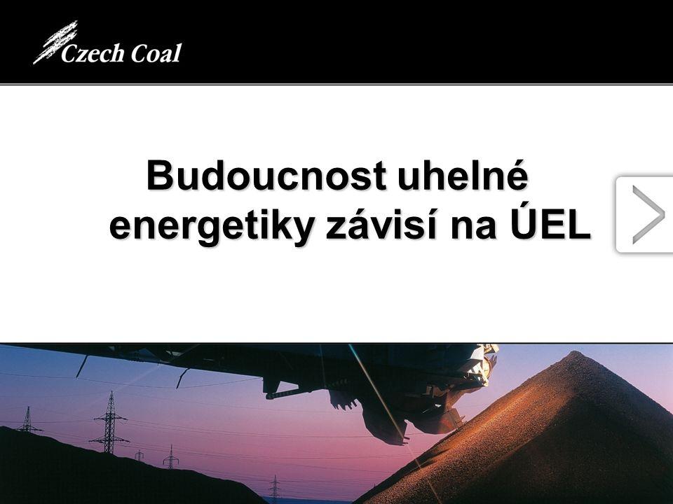 Budoucnost uhelné energetiky závisí na ÚEL