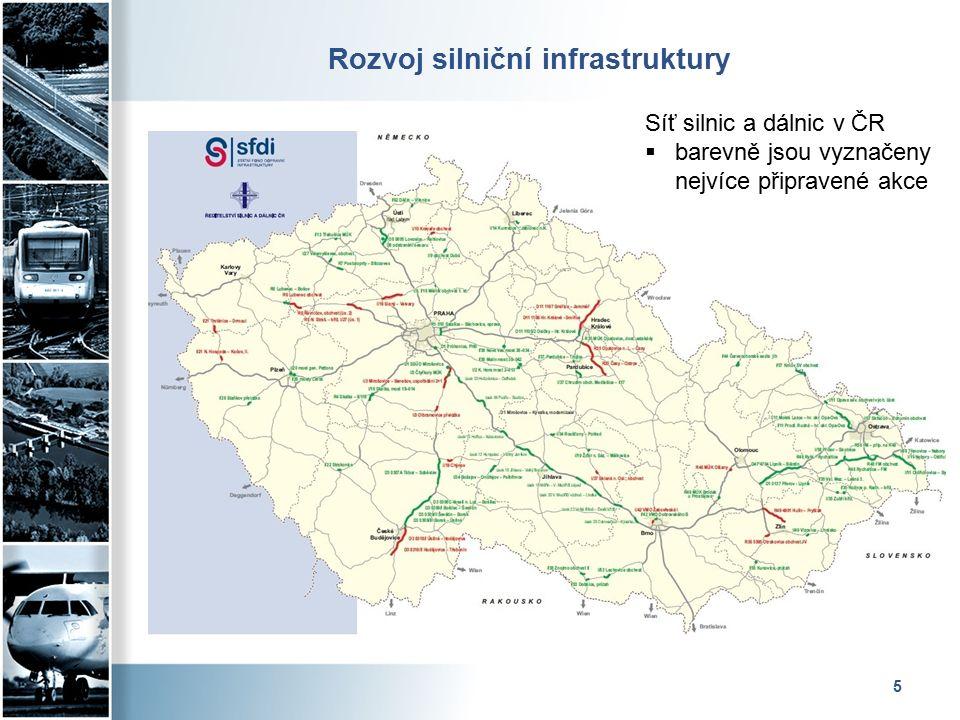 Rozvoj silniční infrastruktury – jižní Čechy 6  D3 Veselí n/Luž – Bošilec (dokončení v r.