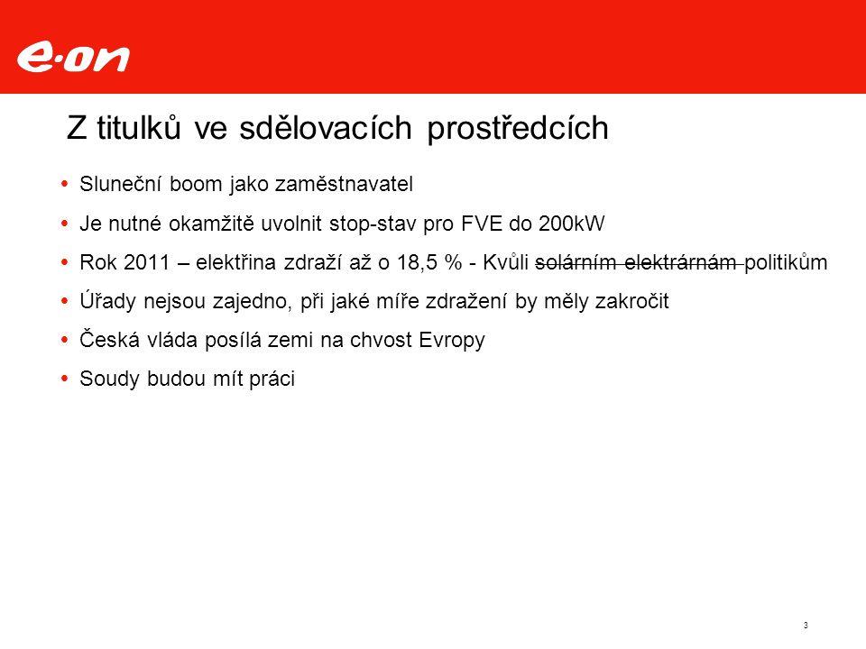Stav žádostí o připojení FVE a VTE k 30.9.2010 (ČSRES) 9