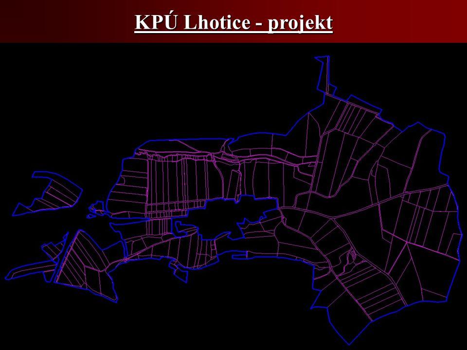 KPÚ Lhotice - projekt
