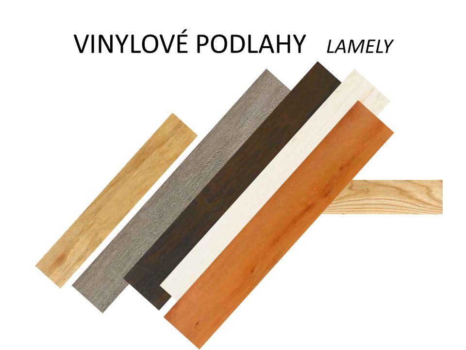 VÝHODY VINYLOVÝCH PODLAH DESIGNVINYLOVÉ PODLAHY DESIGN - INDIVIDUALITA - Vzory dřeva, kamene, dlažby, plechů, uni barvy a melíry - vše je v kolekci stejné tloušťky, což umožňuje nepřeberné množství kombinací a vzorování, různého směru kladení, použití vzorovacích prvků, bordur, intarsií, úprava formátu i v ploše, protože podlaha nemá spojovací prvky.
