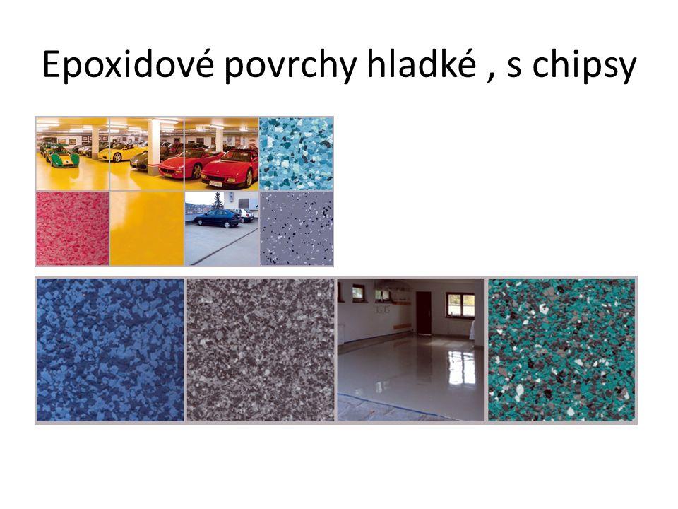 Epoxidové povrchy – s kamenivem