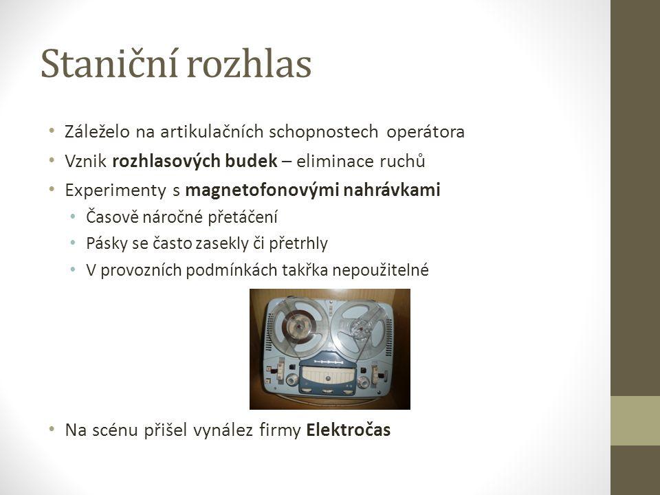 Zdroje (1) ŽELEZNIČÁŘ číslo 1, ročník XX (2) Rostislav Jančar: Jak se řídí vlaky na pražském Hlavním nádraží (31.