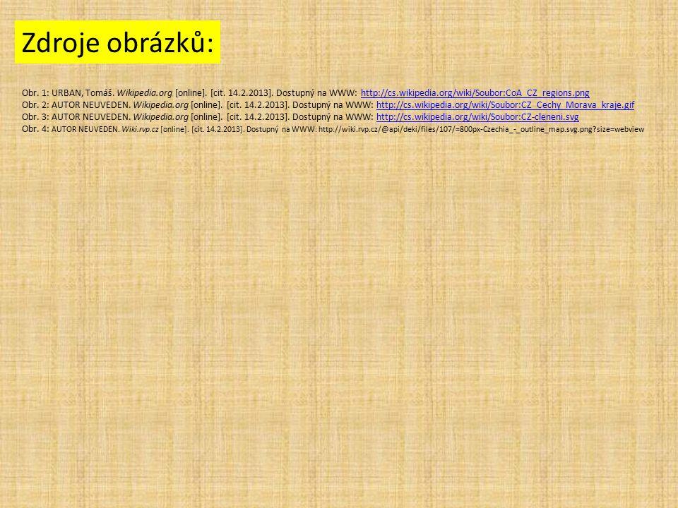 Zdroje obrázků: Obr. 1: URBAN, Tomáš. Wikipedia.org [online].