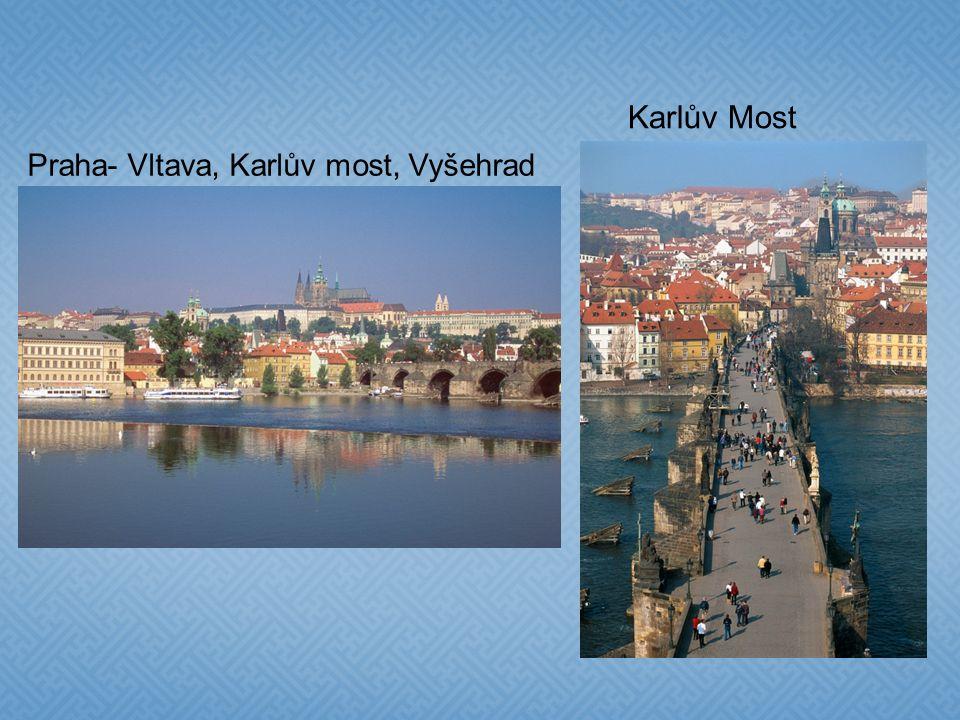 Karlův Most Praha- Vltava, Karlův most, Vyšehrad