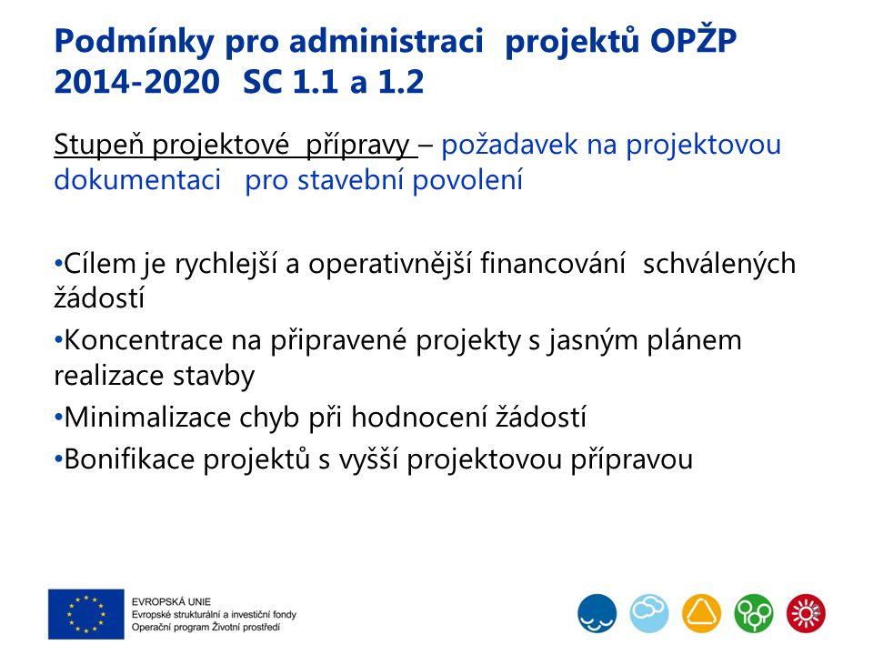 Podmínky pro administraci projektů OPŽP 2014-2020 SC 1.1 a 1.2 Rekonstrukce kanalizační a vodovodní sítě – nezpůsobilý výdaj Rozpočtová rezerva – nezpůsobilý výdaj 10
