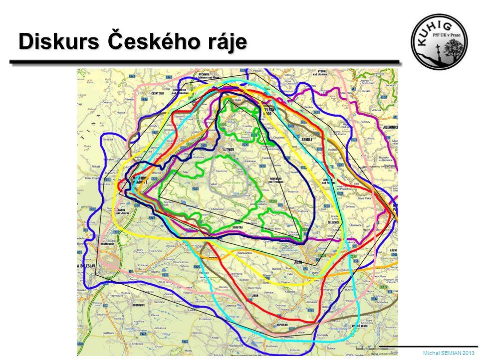 Mentální mapa Českého ráje Michal SEMIAN 2013