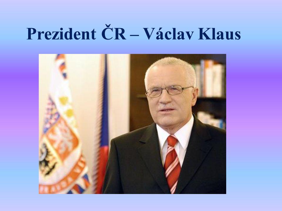 Prezident ČR – Václav Klaus