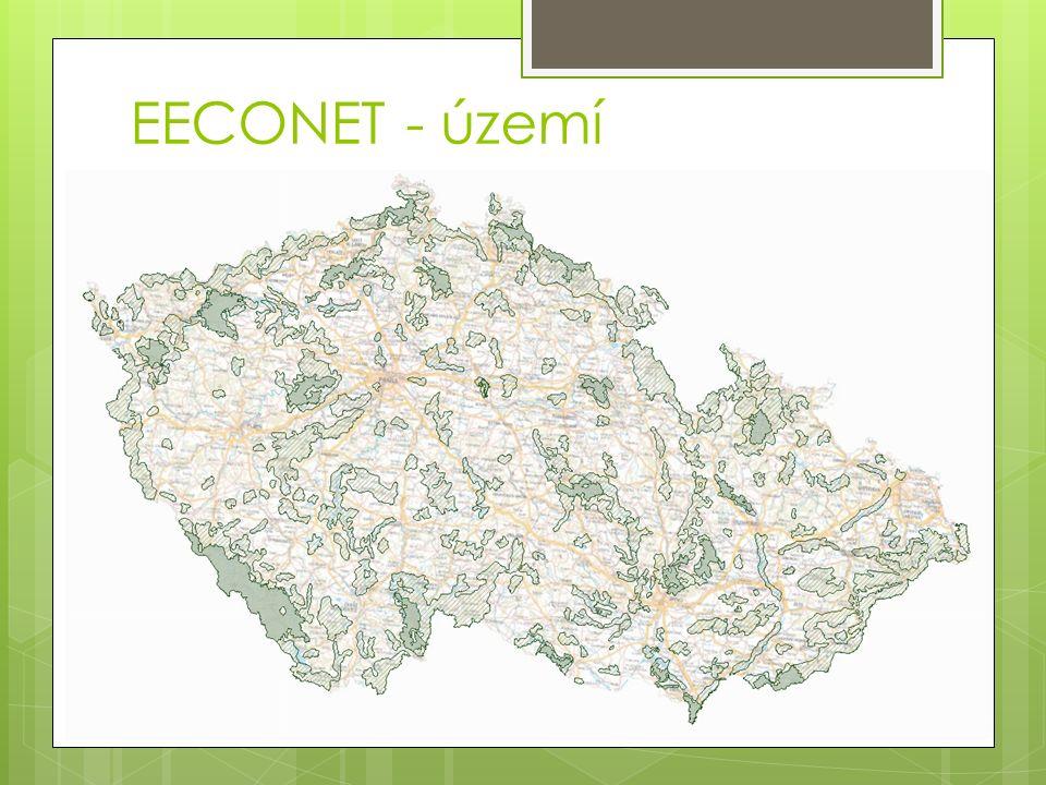 EECONET - území