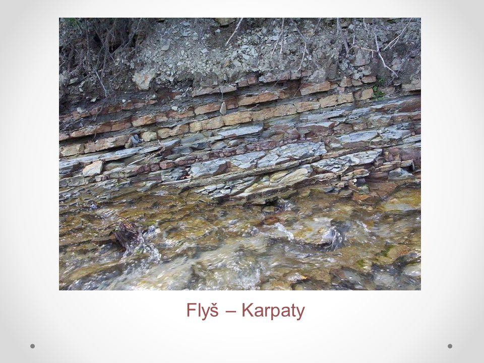 Flyš – Karpaty