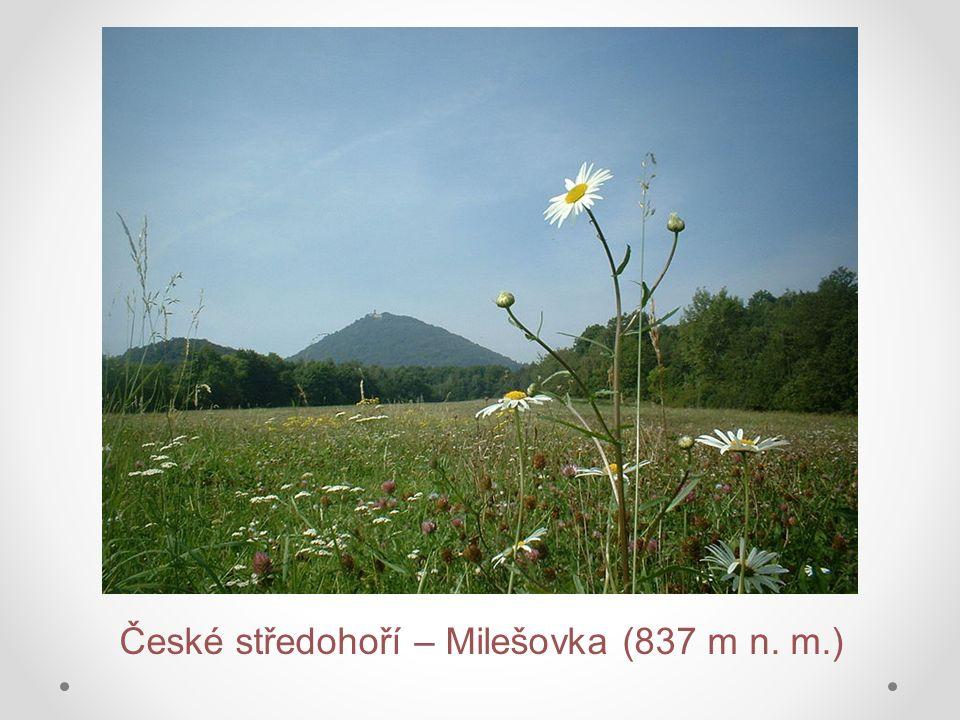 České středohoří – Milešovka (837 m n. m.)