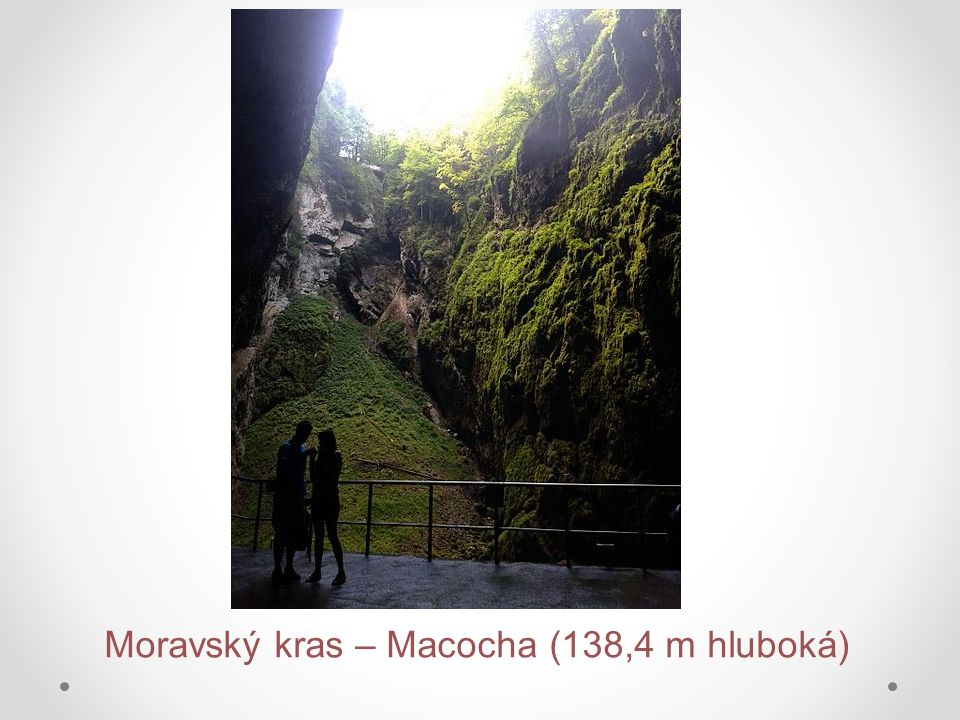 Moravský kras – jeskyně Balcarka