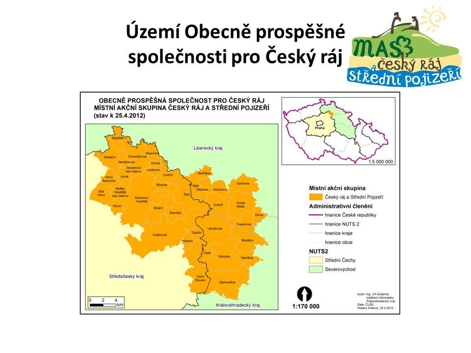 Území Obecně prospěšné společnosti pro Český ráj