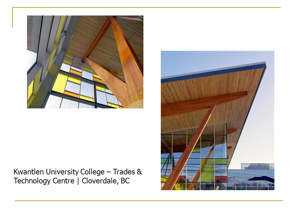 Kwantlen University College – Trades & Technology Centre | Cloverdale, BC