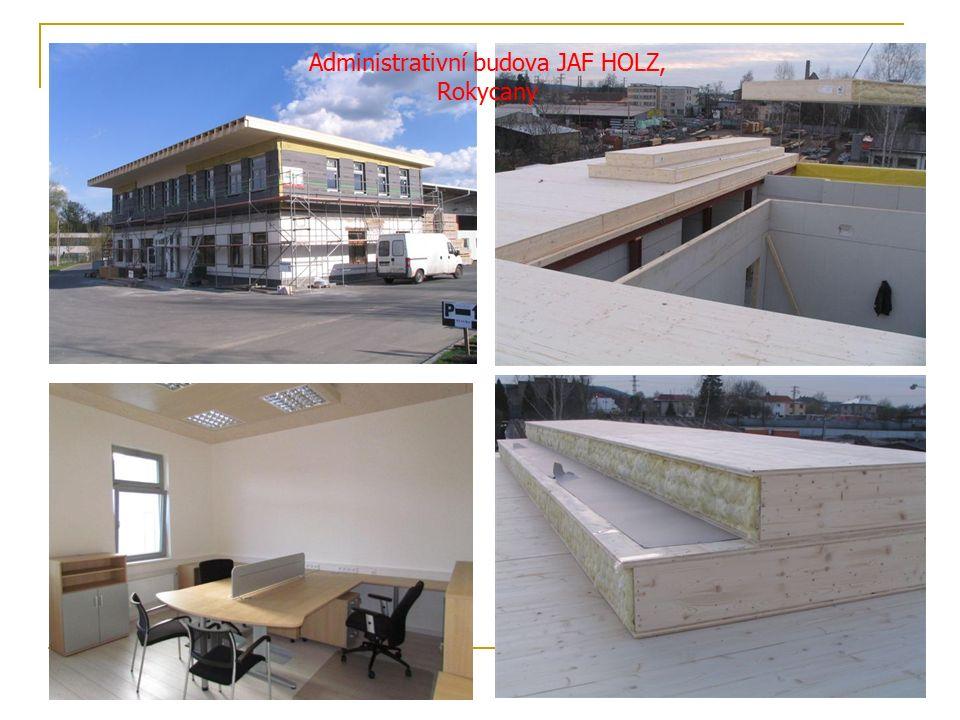 Administrativní budova JAF HOLZ, Rokycany