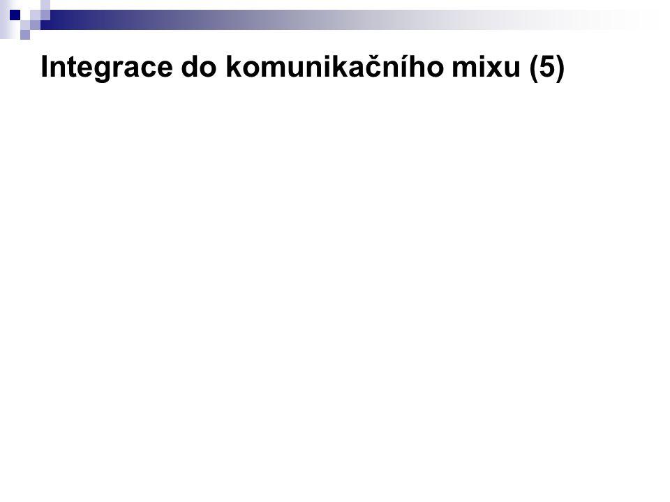 Integrace do komunikačního mixu (5)