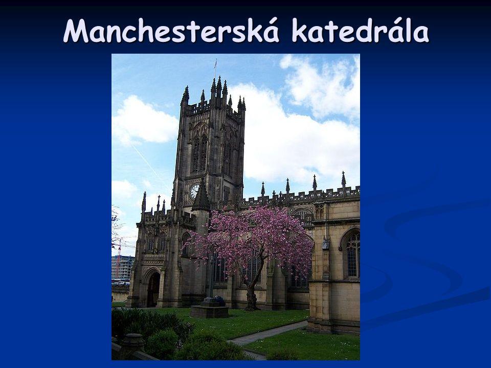 Manchesterská katedrála