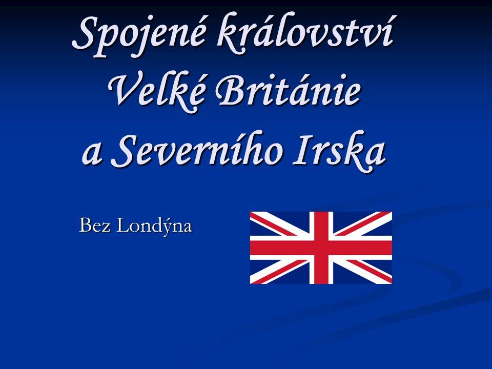 Spojené království Velké Británie a Severního Irska Bez Londýna