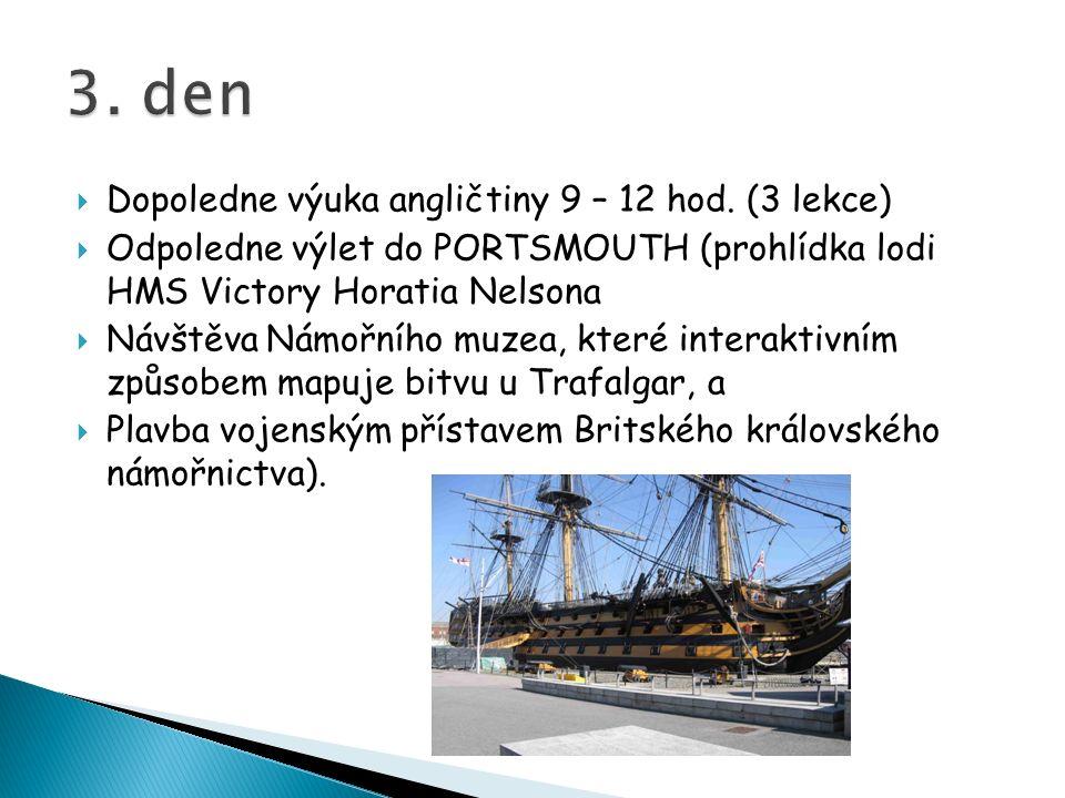 Dopoledne výuka angličtiny 9 – 12 hod.