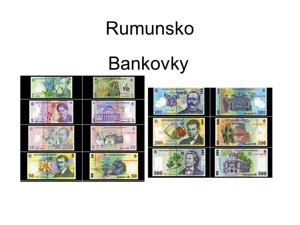 Rumunsko Bankovky
