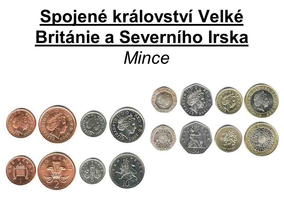 Spojené království Velké Británie a Severního Irska Mince
