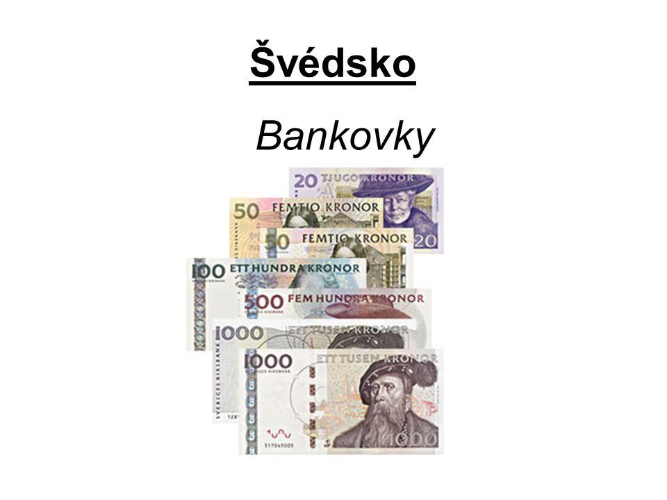 Švédsko Bankovky