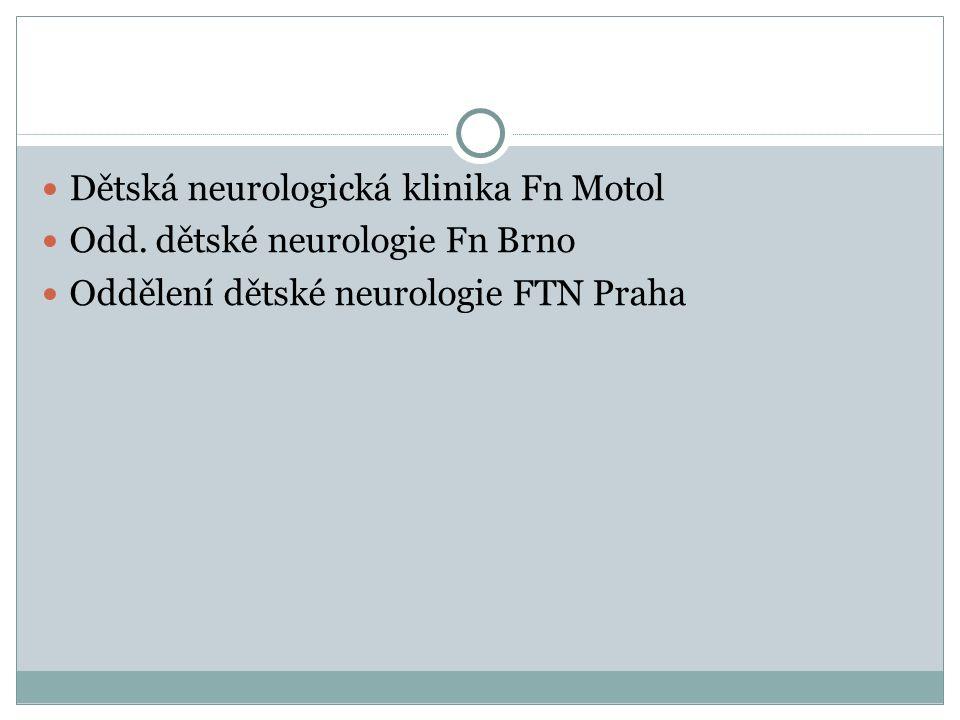 Dětská neurologická klinika Fn Motol Odd.