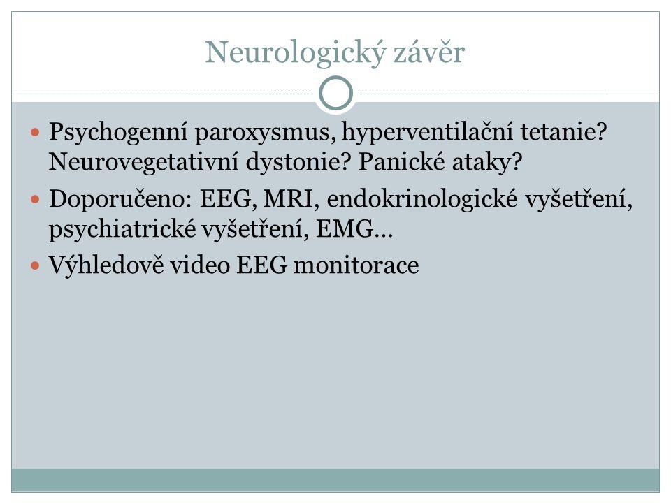 """U disociativních poruch je předpokládán """"psychogenní původ."""