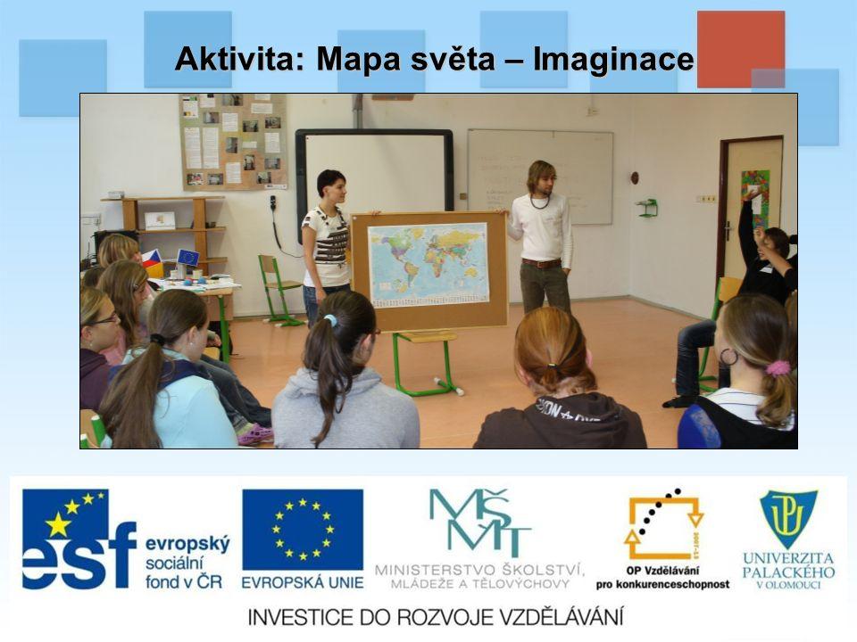 Aktivita: Mapa světa – Imaginace