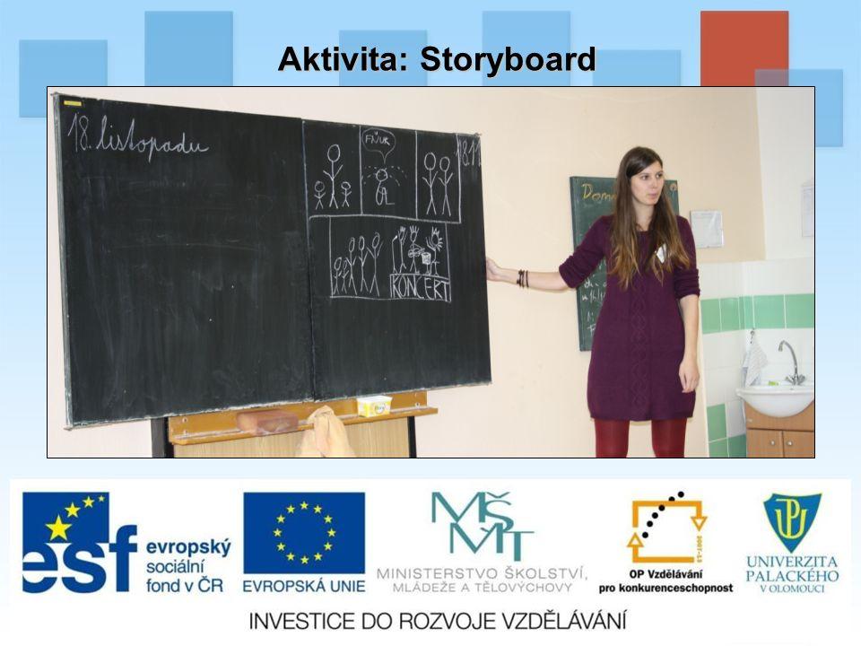 Aktivita: Storyboard