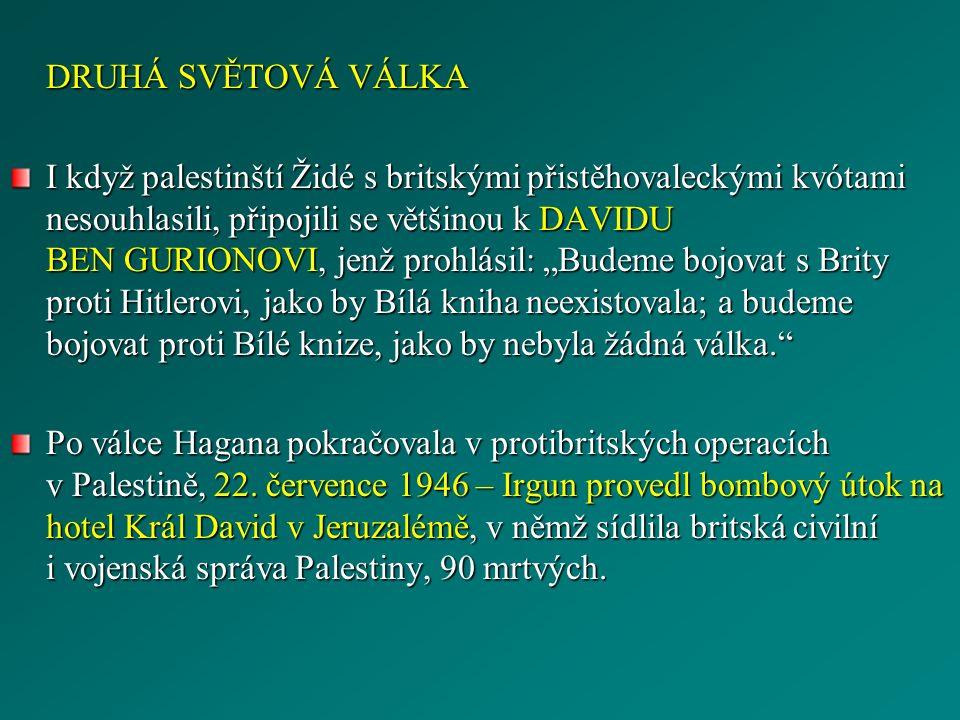 HOTEL KRÁL DAVID / PALESTINŠTÍ UPRCHLÍCI [cit.2010-11-11].
