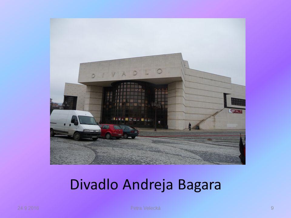 Divadlo Andreja Bagara 24.9.20169Petra Velecká