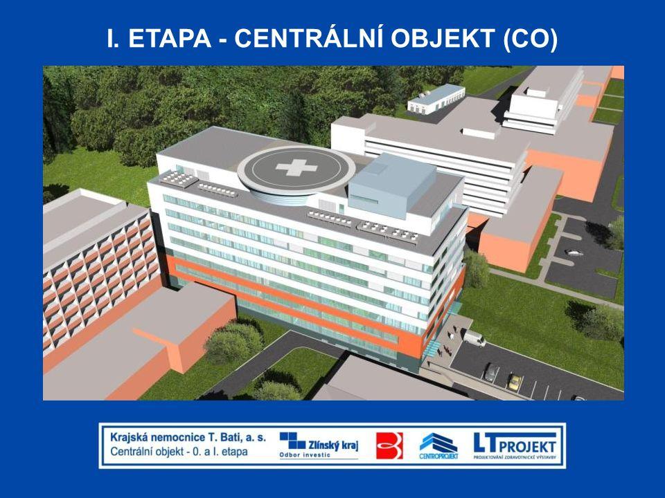 I. ETAPA - CENTRÁLNÍ OBJEKT (CO)