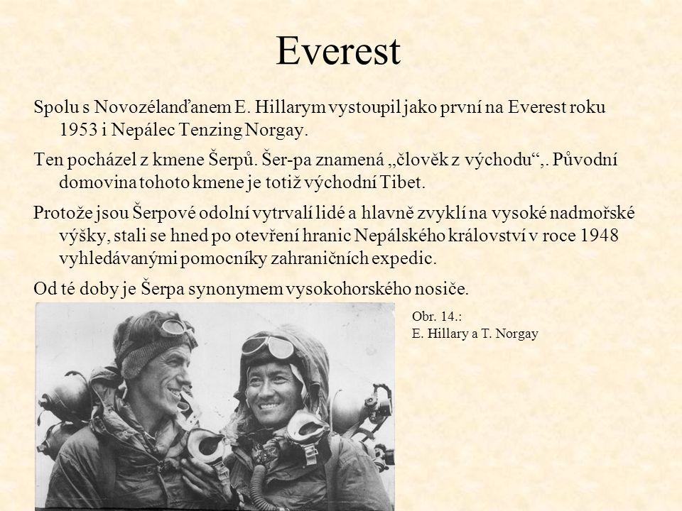 Everest Spolu s Novozélanďanem E.