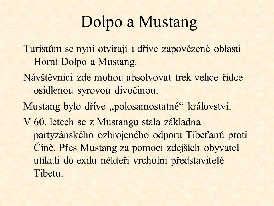 Dolpo a Mustang Turistům se nyní otvírají i dříve zapovězené oblasti Horní Dolpo a Mustang.